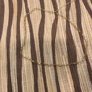 Choker gold looking chain